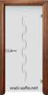 Стъклена интериорна врата Gravur G 13-1