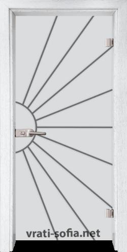 Стъклена интериорна врата Gravur G 13-2