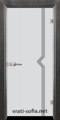 Стъклена интериорна врата Gravur G 13-3