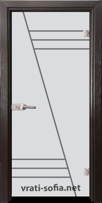 Стъклена интериорна врата Gravur G 13-4