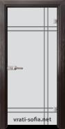 Стъклена интериорна врата Gravur G 13-8