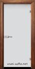 Стъклена интериорна врата Matt G 11