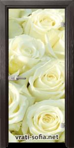 Стъклена интериорна врата Print G 13-6