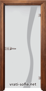 Стъклена интериорна врата Sand G 14-1