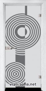 тъклена интериорна врата Sand G 14-6