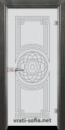 Стъклена интериорна врата Sand G 14-8