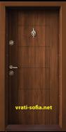 Блиндирана входна врата T-102, цвят Спарта