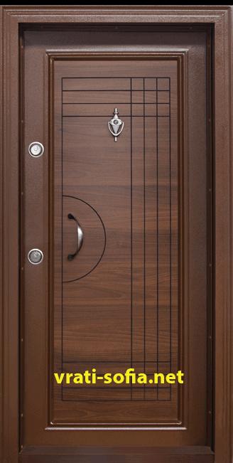 Блиндирана входна врата T-305
