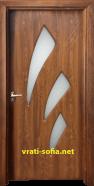Интериорна врата Gama 202, цвят Златен дъб, от Врати София