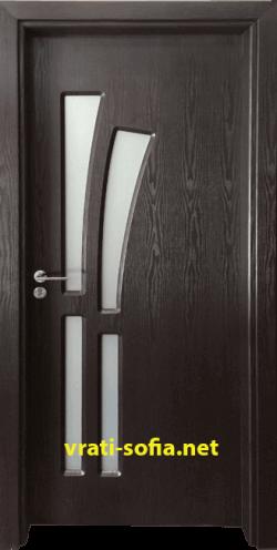 Интериорна врата Gama 205, цвят Венге