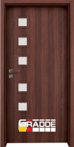 Интериорна врата Gradde Reichsburg, цвят Череша Сан Диего