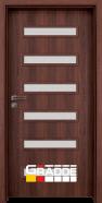Интериорна врата Gradde Schwerin, цвят Череша Сан Диего