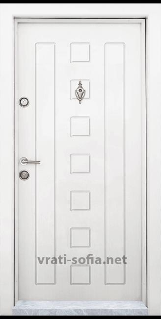 Блиндирана входна врата T-712, цвят Африка