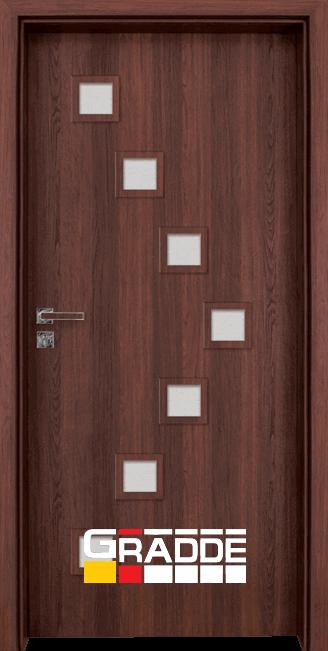 нтериорна врата Gradde Zwinger, цвят Орех Рибейра