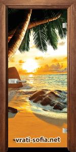 Стъклена интериорна врата Print G 13-14 Z