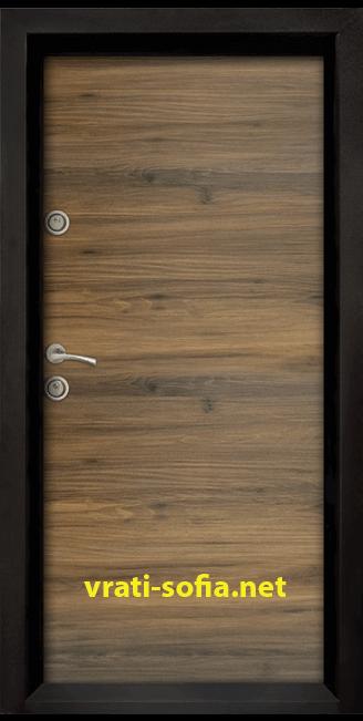 Блиндирана входна врата Ale Door 404, цвят Napoli