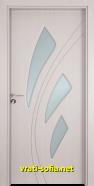 Интериорна врата Gama 202, цвят Перла
