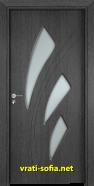 Интериорна врата Gama 202, цвят Сив кестен