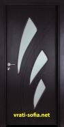 Интериорна врата Gama 202, цвят Венге