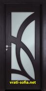 Интериорна врата Gama 208, цвят Венге
