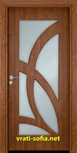 Интериорна врата Gama 208, цвят Златен дъб