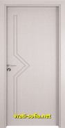 Интериорна врата Gama 201p, цвят Перла