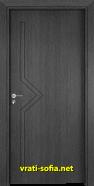 Интериорна врата Gama 201p, цвят Сив кестен