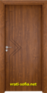 Интериорна врата Gama 201p, цвят Златен дъб