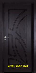 нтериорна врата Gama 208p, цвят Венге