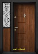 Еднокрила входна врата Т-100, цвят Златен дъб