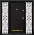Еднокрила входна врата Т-712, цвят Африка