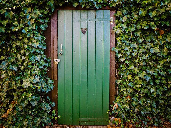 Зелена врата