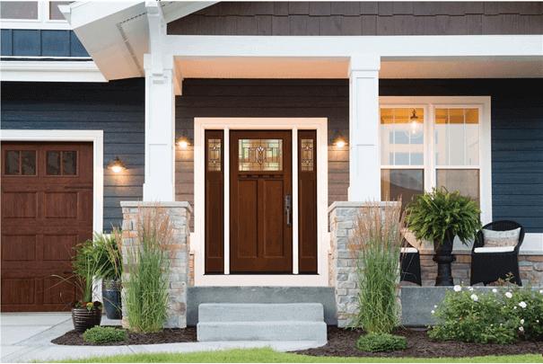 Блиндирана врата за къща