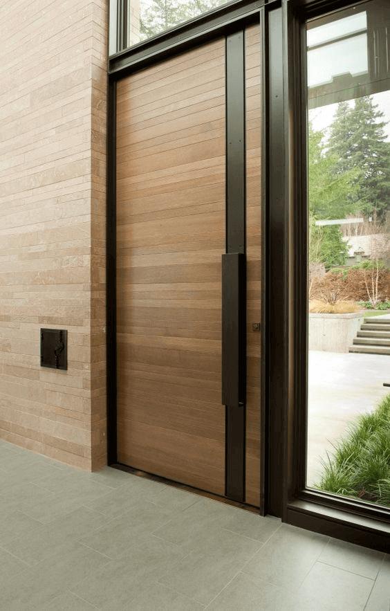 Модерна Блиндирана врата за дома